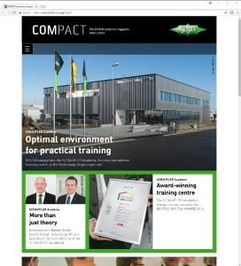For its customer magazine, BITZER has opted for the benefits of a digital version