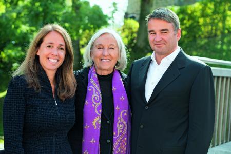 Renate Pilz (Mitte) übergibt Ende des Jahres 2017 die Geschäfte an ihre Kinder Susanne Kunschert (links) und Thomas Pilz (rechts)