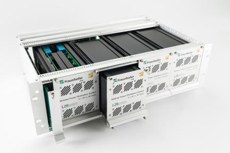 Modular Power Distribution System (MPDS) for scalable and flexible connection of renewable energy sources and storage systems.