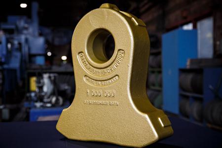 Ein ganz besonders Produktjubiläum wurde bei den Stahlwerken Bochum gefeiert-  der 1.000.000sten Shredderhammer
