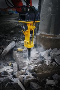 Atlas Copco: neuer SB 452 ergänzt die Reihe der leichten Hydraulikhämmer