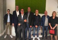 Arbeitskreis Digitalisierung und Vernetzung der CDU Nordbaden informiert sich bei Heidelberg iT. Foto: Heidelberg iT.