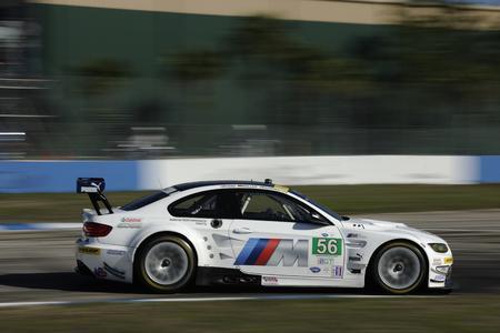 Sebring (USA), Jörg Müller (DEU), Bill Auberlen (USA), Uwe Alzen (DEU), No 155, BMW Team RLL, BMW E92 M3, American Le Mans Series, Twelve Hours of Sebring (Foto: BMW AG)
