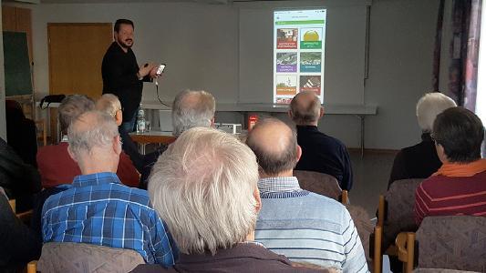 Sebastian Triltsch stellte die Holzgerlingen-App vor