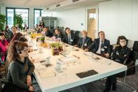 """Eine Delegation des """"Government Affairs Service Center of Chengdu Municipal People's Government"""" war am 03.11.2014 zu Besuch in der SER-Europazentrale in Bonn"""