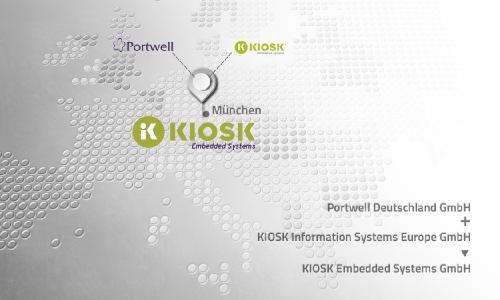 Portwell Deutschland GmbH und KIOSK Information Systems Europe werden zur KIOSK Embedded Systems GmbH