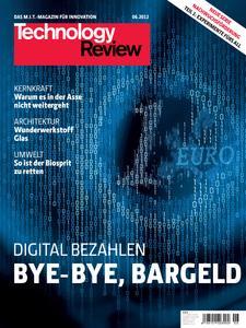 Das Titelbild der aktuellen Technology-Review-Ausgabe 6/2012