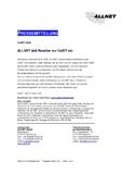 [PDF] Pressemitteilung: ALLNET lädt Reseller zur CeBIT ein