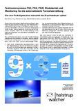 [PDF] Pressemitteilung: Positioniersysteme PSE, PSS, PSW: Modularität und Monitoring für die automatisierte Formatverstellung
