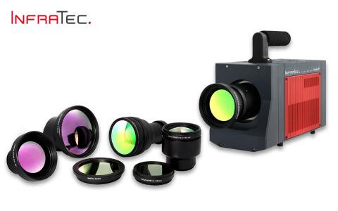 High-end infrared camera ImageIR® 9500 from InfraTec