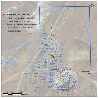Corvus Gold Expands Main Zone with 88.4m @ 1.92 g/t Au and Central Intrusive Oxide Zone at Mother Lode Deposit, Nevada