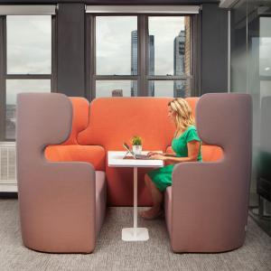 Bisley VIVO - Viersitzer mit Tisch