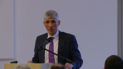 Dr. Thoralf Held, Kanzler der Ernst-Abbe-Hochschule Jena und Sprecher des Lenkungsausschusses