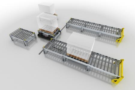 Flexibel, einfach und schnell zu installieren: Der Smart Pallet Mover (SPM) ist ein innovativer Ansatz zur Produktivitätssteigerung in der Produktionslogistik