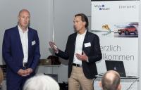 Marcus Kurringer, Marketingleiter bei Heller und Helge Ulrich, CEO bei der echolot.GROUP. mit ihrem gemeinsamen Vortrag