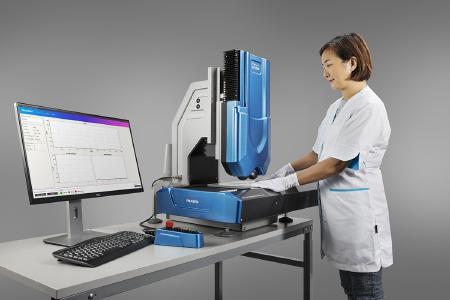 UULA das Mess System für den Laborgebrauch aber auch den Einsatz vor Ort in der Produktion online (Bild: focalspec)