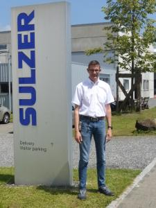 Ronny Graf, Injection-Molding Department Manager at the Haag production site in Switzerland Haag. Image Source: Sulzer, MPDV