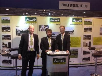 PlanET UK Sales Team f.l.t.r.: Christof Langguth, Stephan Hoffmann, Roland Dieler