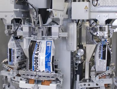 HAP-Technology for the environmentally friendly filling of powder-type products in watertight PE bags