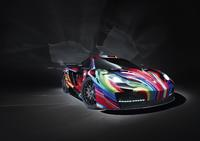 "HAMANN presents the ""memoR"" - the McLaren MP4-12C as an exquisitely colourful piece of art"