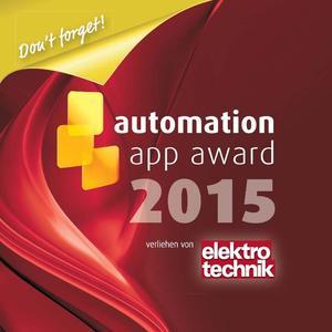 Logo Automation App Award 2015