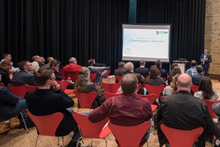 Rund 150 Besucher nahmen beim ITT-Event 2017 an den Live-Demonstrationen und Fachvorträgen teil, um sich über das Thema Big Data zu informieren. (Foto: Trimble)