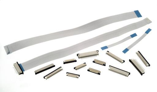 ZIF-Steckverbinder und flexible Flachbandkabel von Würth Elektronik