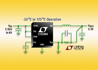 600mA, 1.5MHz Synchronous Step-Down Regulator Now Offered in Military Plastic Temperature Range