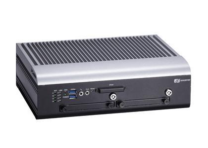 AXIOMTEKs tBOX312-870-FL Lüfterloser Vehicle-PC mit Intel® Core™ Prozessor der dritten Generation
