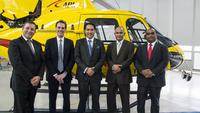 Newly delivered AS350 B3e and EC135 T2e to kick-start company's operations in untapped market segment