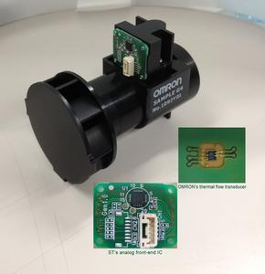 OMRON und STMicroelectronics stellen branchenweit einzigartigen Sensor für intelligente Gaszähler vor, Foto: Omron/STMicroelectronics