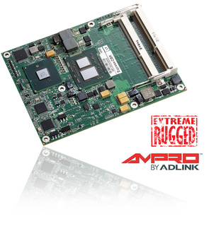 ADLINK Technology kündigt Extreme Rugged(TM) COM Express(TM) Modul auf Basis des Intel® Core(TM) i7 Prozessors an