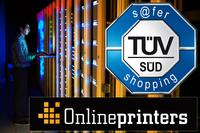 onlineprinters.com Once More Awarded with TÜV Seal s@fer-shopping