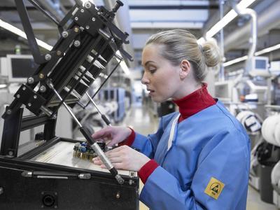 Montage beim Weltmarktführer der Belüftungstechnik - ebmpapst in Mulfingen