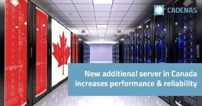 CADENAS expands server infrastructure with North American site