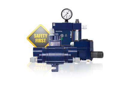 Vacuum metering system for chlorine gas DULCO®Vaq for safe and efficient chlorine disinfection
