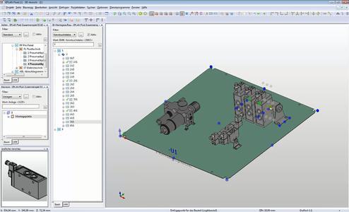 Einfache 3D-Projektierung in Eplan Fluid Professional per eTouch-Technologie