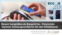 Studie von ECC Köln und Concardis - Potenziale digitaler Zahlungsverfahren für den Mittelstand