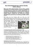 [PDF] Pressemitteilung : Neue Sicherheitskupplungen, kleinere Abmaße, höhere Leistung