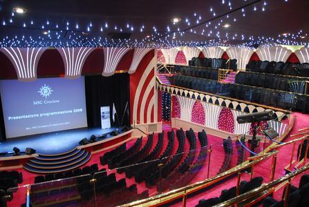 Unterhaltung und Show im Theater