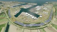 Visualization of Solarpark Scaldia, Picture: North Sea Port