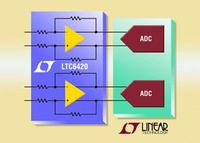 1.8/1.3GHz, Low Distortion, Dual ADC Drivers Deliver Guaranteed Matching & Low Noise