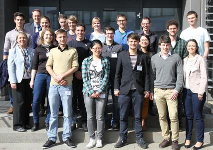 18 students visited Rottenburg-Ergenzingen to gain an insight into production at BITZER as part of the