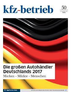 """Das """"kfz-betrieb""""-Sonderheft nimmt Deutschlands Autohändler unter die Lupe, Foto: kfz-betrieb"""
