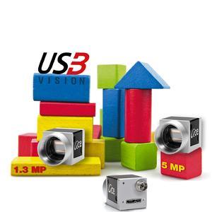 Basler ace USB 3.0 Kameras mit 1,3 und 5 MP zum Testen