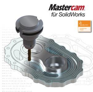 Mastercam für SolidWorks vereint die weltweit führende CAD‐ mit der weltweit meisteingesetzten CAM‐Software