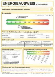 Ab 1. Juli wird der Energieausweis für Altbauten schrittweise eingeführt - wenn eine Neuvermietung oder ein Verkauf ansteht