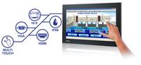 Robuste Widescreen Industrie-Monitore mit Multi-Touch-Technologie
