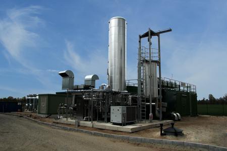 Gasaufbereitung Aminwäsche Müden für Biogas-Pool