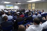 At the three day International Sales Meeting held by Ersa, much information related to the state of the markets, to technological road maps, new product development, newly enhanced features and marketing strategies was exchanged. Ersa's Director of Sales Rainer Krauss had more than 100 attentive listeners from all over the world.